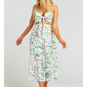 Moby Tie Maxi Dress